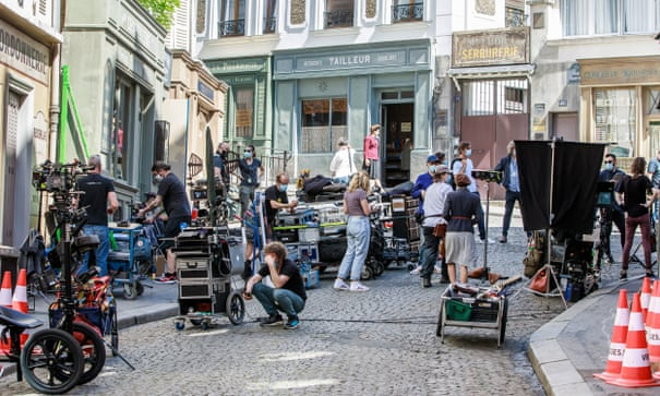 Behind the scenes, film and TV workers want less drama